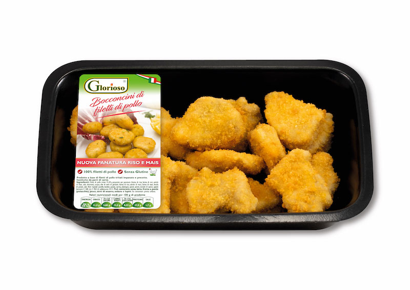 Bocconcini di filetti di pollo
