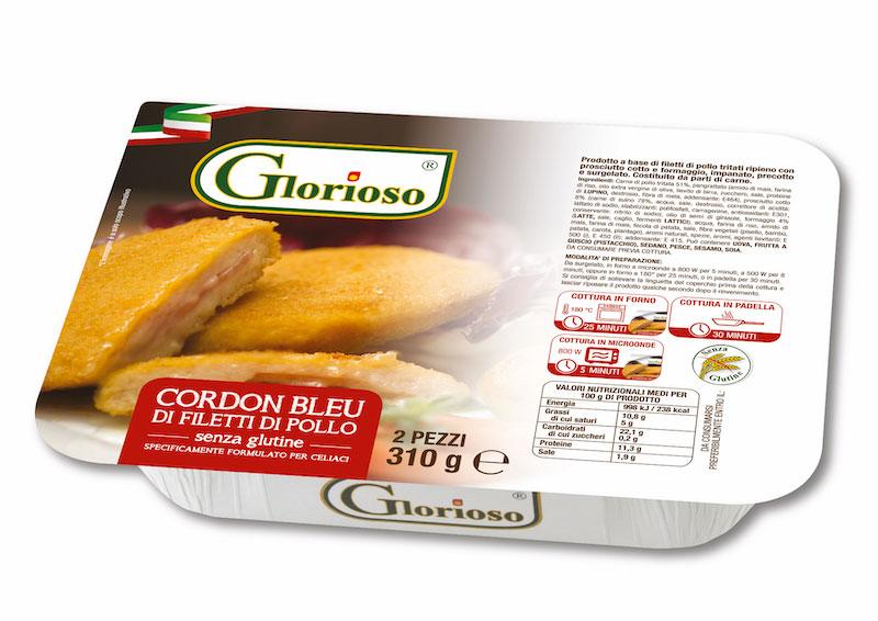 Cordon bleu di filetti di pollo