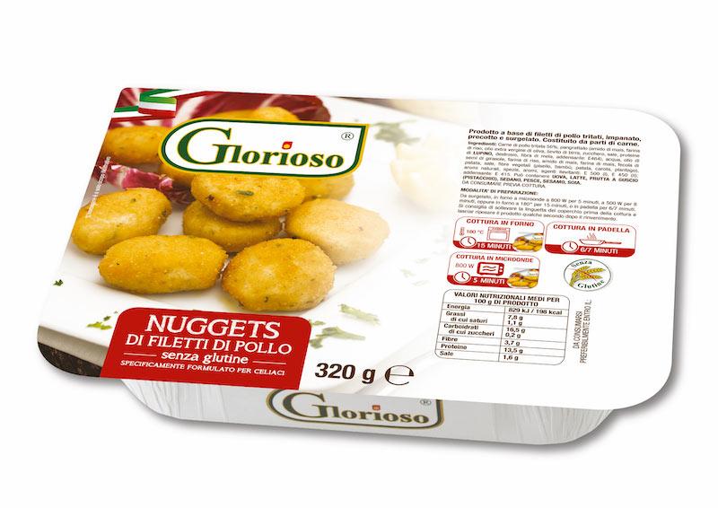 Nuggets di filetti di pollo