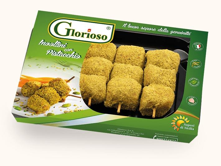Involtini con pistacchio