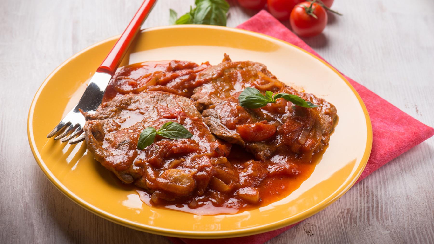 Carne alla peperonata
